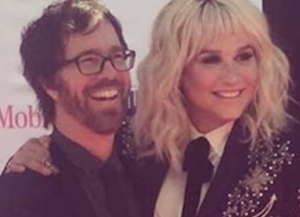 Ben Folds and Kesha, via her Instagram feed