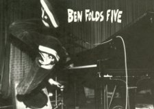 Ben Folds piano dive poster from 1994
